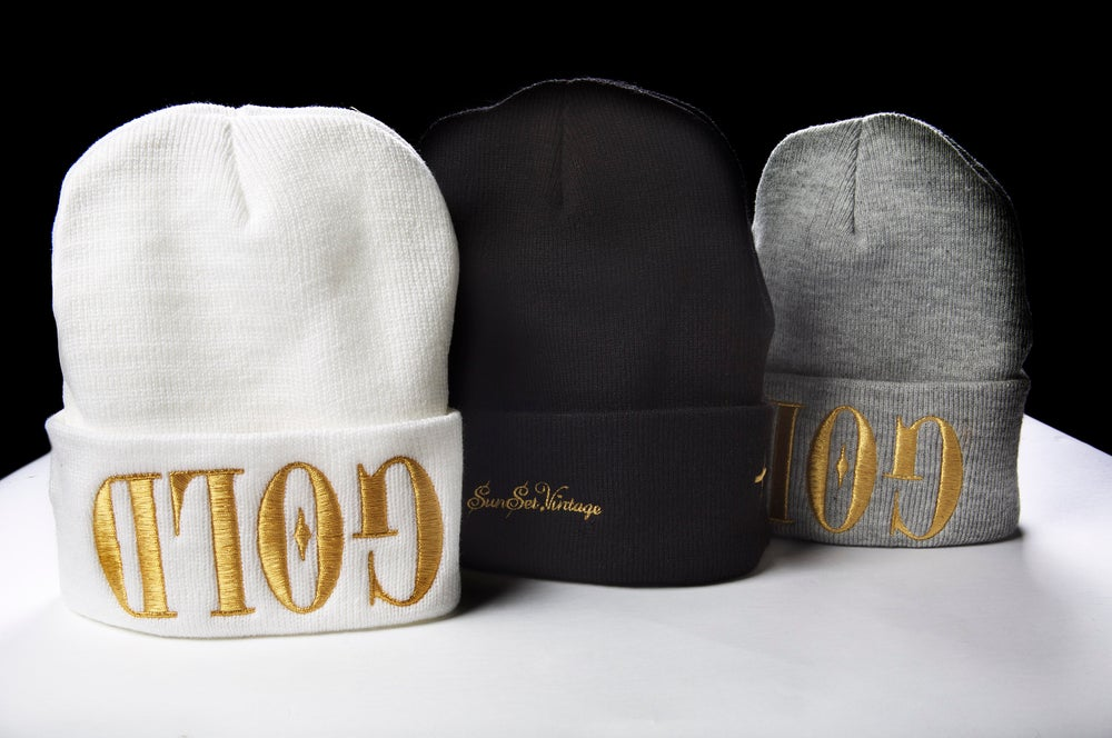 Image of GOLD Beanie