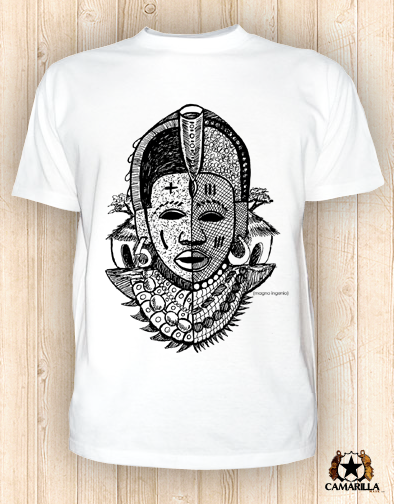 "Image of Camarilla Mask™ ""Yaya Mask"" Shirt"