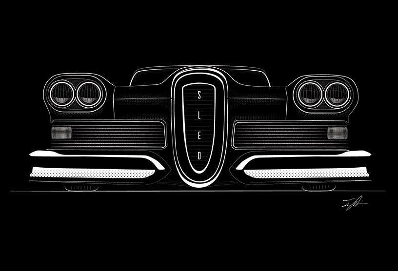 Image of The Edsel Project shirt