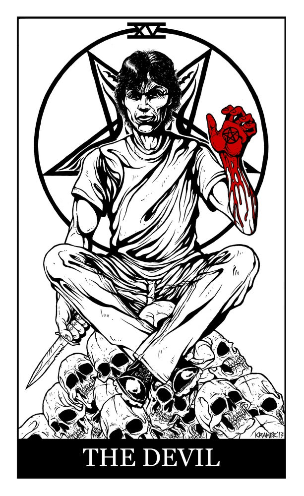 "Image of Ramirez ""The Devil"" Tarot Card Shirt"