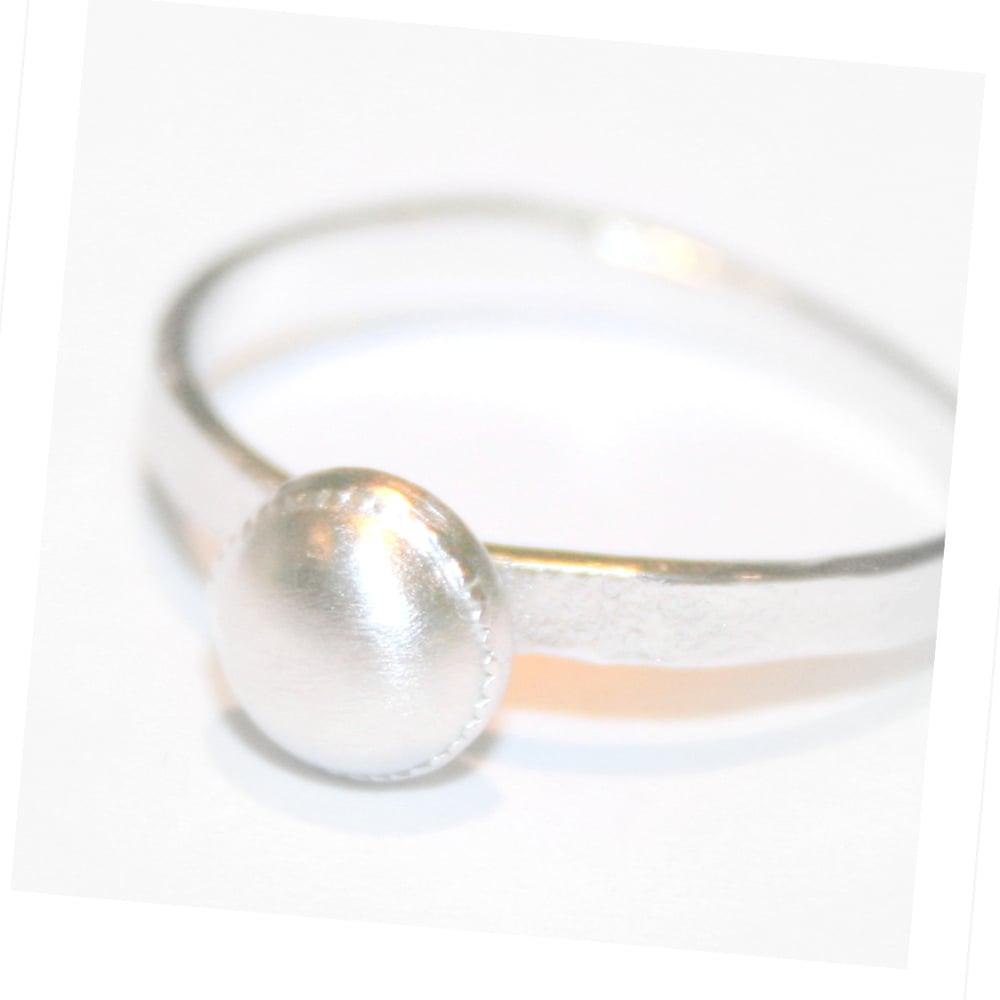 Image of Ring in zilver, trouwring, verlovingsring, juweelontwerp, Antwerpen, juwelen op maat