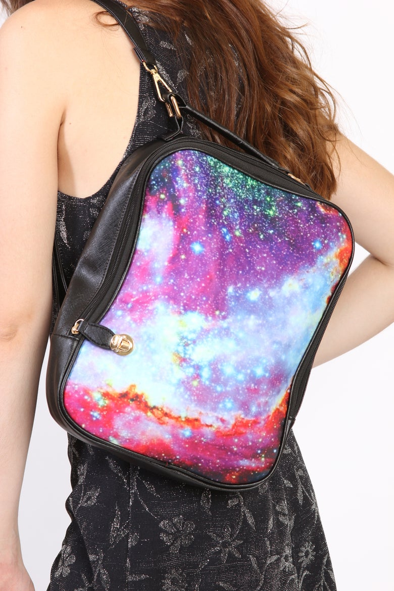 Image of Spacetrash Galaxy Backpack