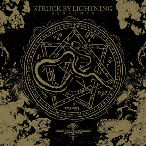 Image of Struck By Lightning - Serpents CD