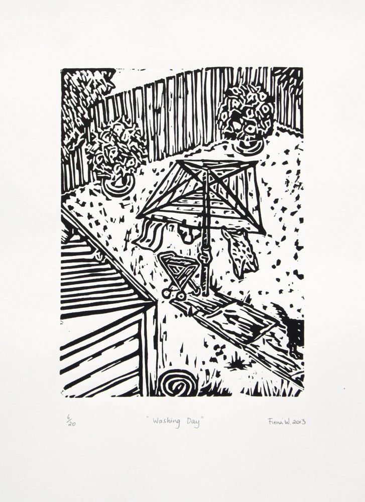 "Image of ""Washing Day""  2013"