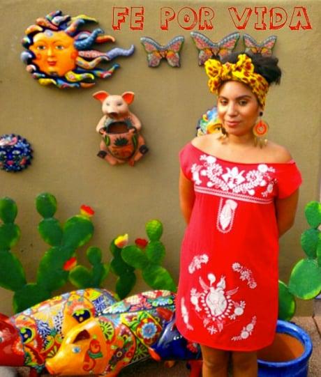 Image of FE DRESS - MeXicana Anahuac