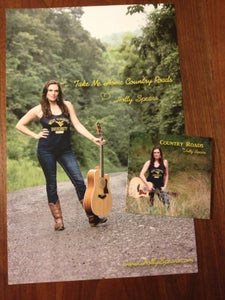 Image of Country Roads CD/Poster package #2 (coal mine road)