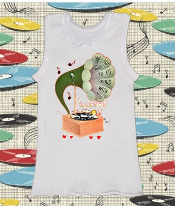 Image of Record Player Singlet