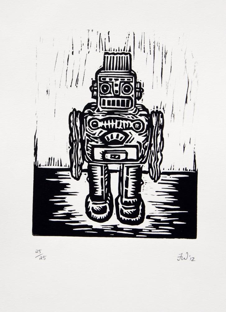 "Image of ""Retro Robot""  2012"