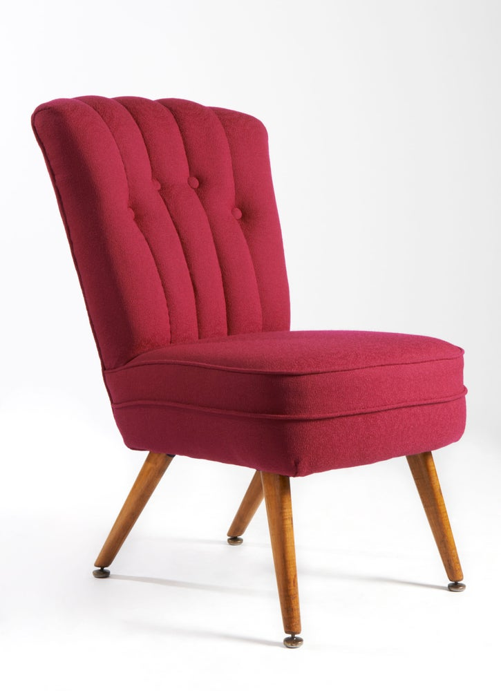 Pretty in Pink Cocktail Chair