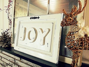 "Image of ""Joy"" Wood Sign"