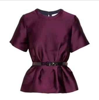 Image of 39. Boss Lady Peplum Top