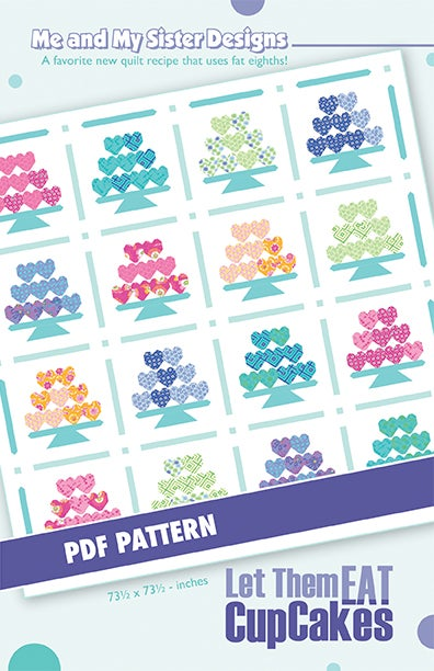 Image of Let Them Eat CupCakes PDF pattern