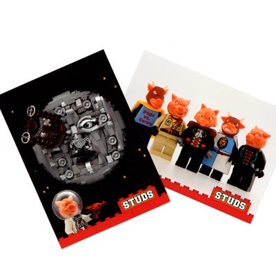 Image of Set of Pigs vs Cows STUDS Cards