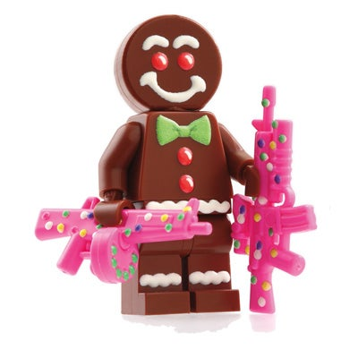 Image of Limited Edition Gingerbread Man Custom Minifigure - SOLD OUT!