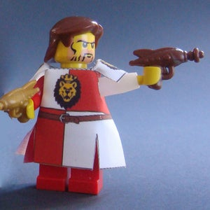 Image of CRAZY ARMS! Straight arms for your minifigures - Pair GHOST WHITE