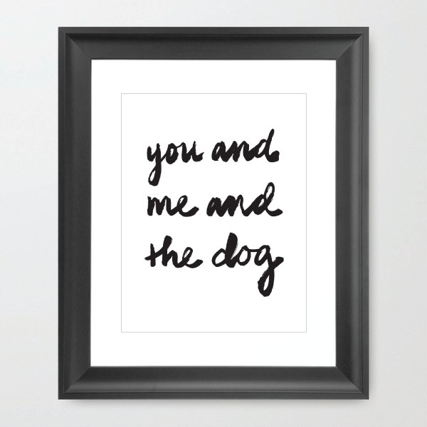 Image of You & Me & the Dog
