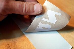Image of Sideburn Wingboot Rub-on sticker