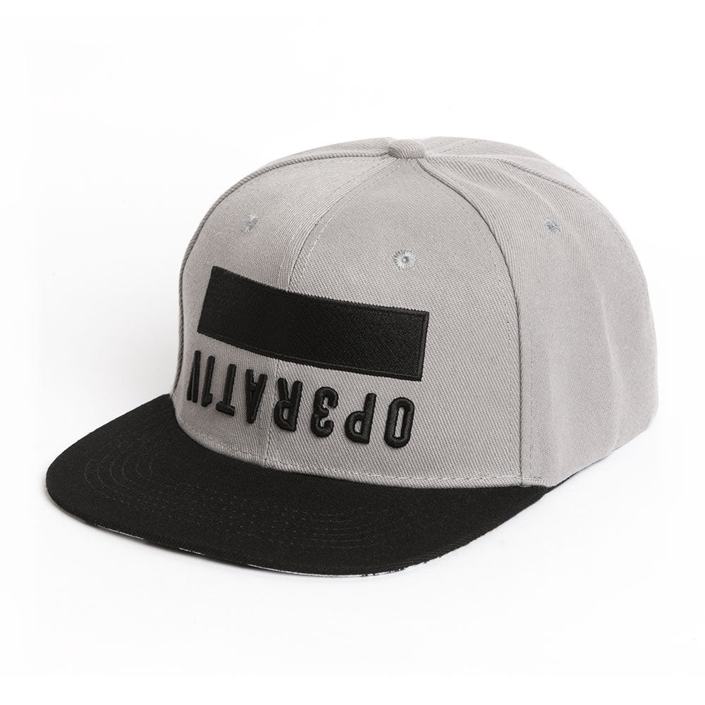 Image of BLOC SNAPBACK [ gray ]