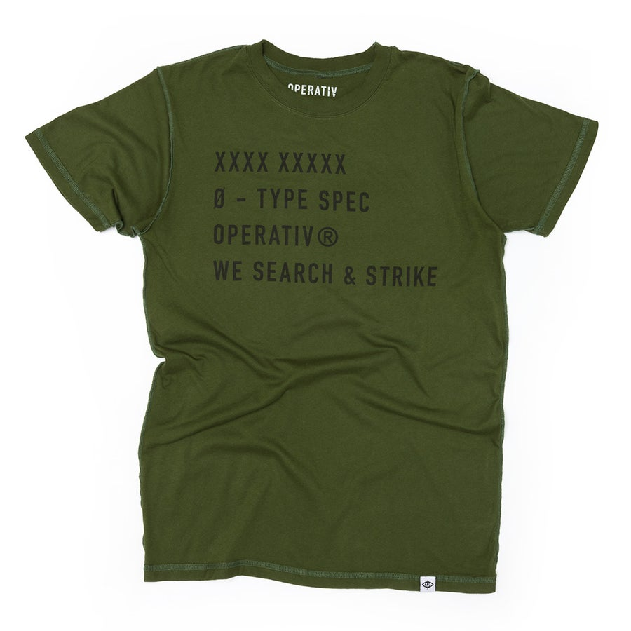 Image of S&S RAW SHIRT [ army ]