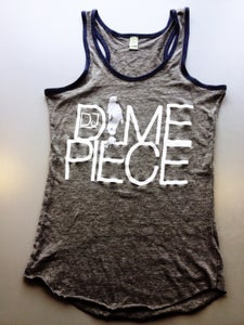 Image of Dime Silver Grey Racerback Tank