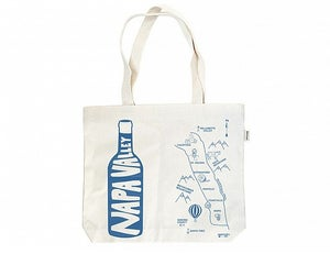 Image of Double Wine Tote by Maptote - various locations
