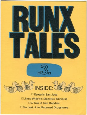 Image of RUNX TALES #3