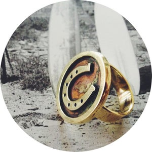 Image of CREST RING ///  Lucky You