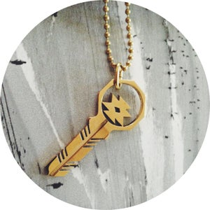Image of KEY NECKLACE /// Terlingua