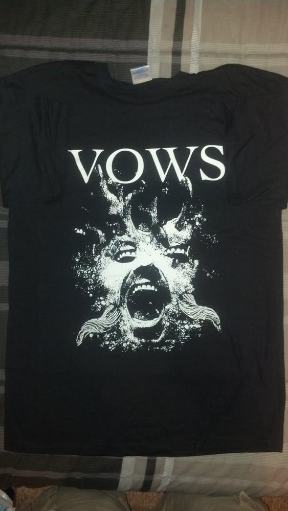 Image of Wonky Mouth Eye Shirt (B/W)
