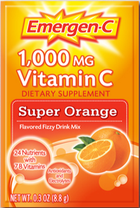 Image of Emergen-C packets - assorted flavors