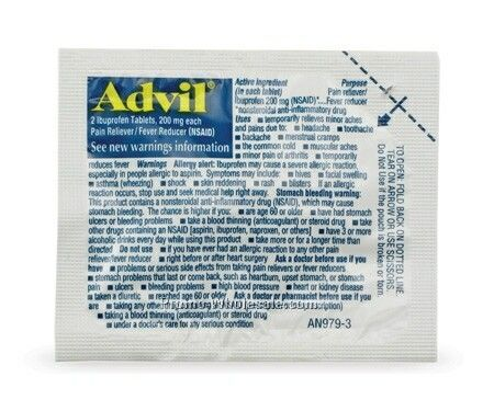 Giftify Advil Packet