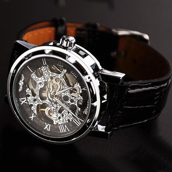 how to start a mechanical watch