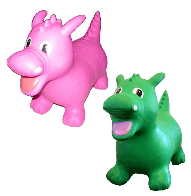 Image of DARCY the Dragon (Green) or Dixie the Dragon (Pink)