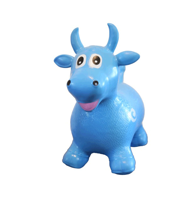 Image of Brutus the bull (Blue)