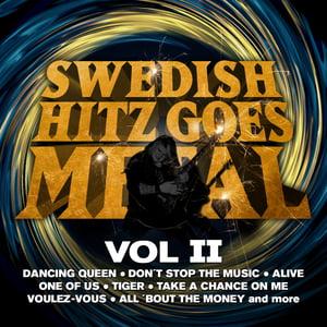 Image of SWEDISH HITZ GOES METAL - VOL 2 - DOOCD009