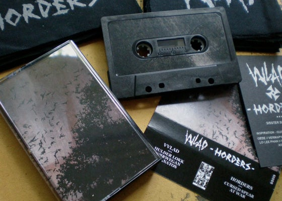 Image of VVLAD/HORDERS tape (SS009)