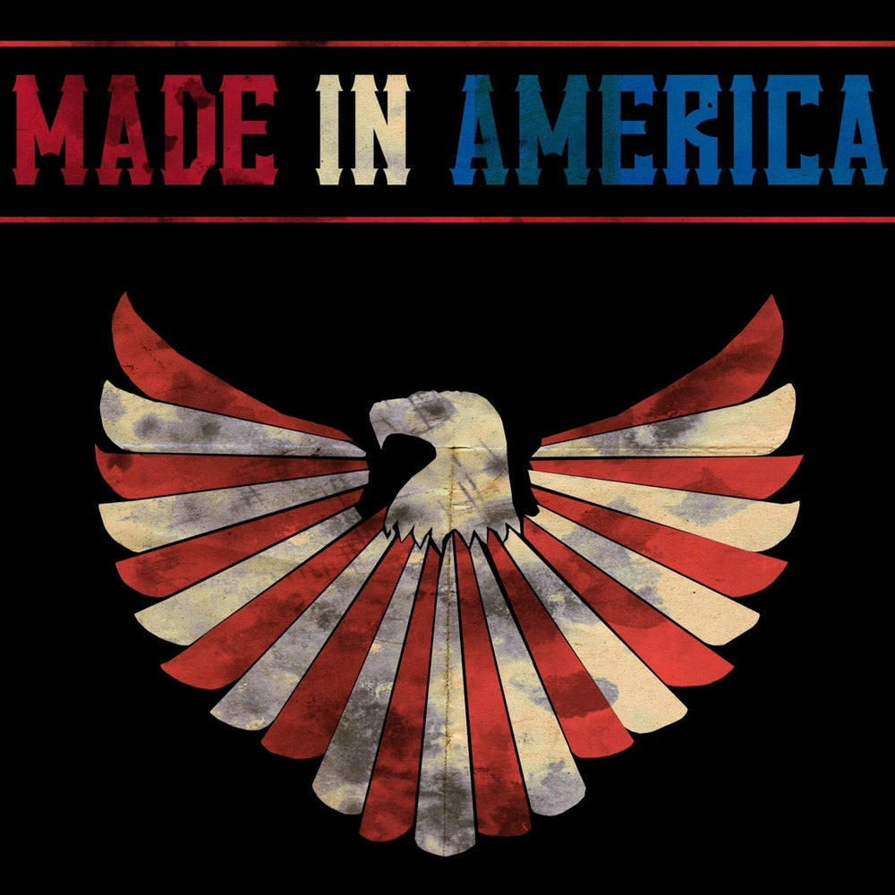 Image of Made In America Album Cover T-Shirt