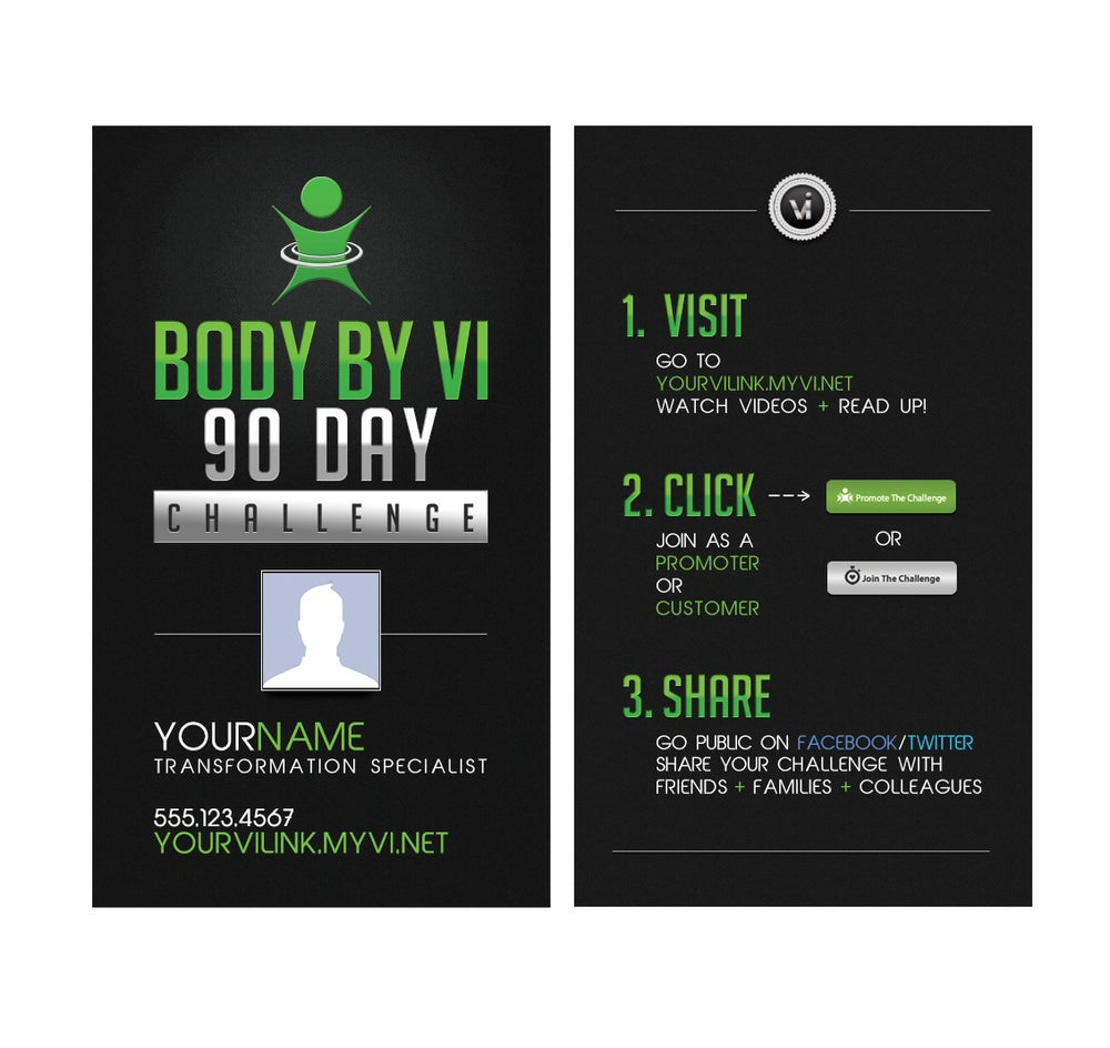 Image of BBV Business Cards - Design #1