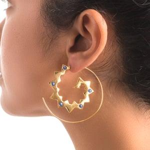 Image of Tuareg Spike Earrings