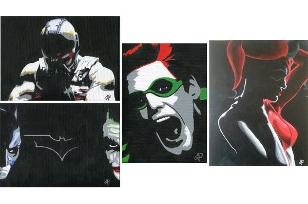 Image of Batman Villain Series