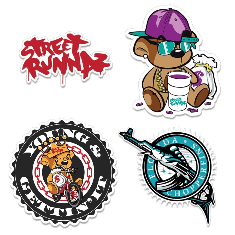 Image of Street Runnaz Sticker Pack