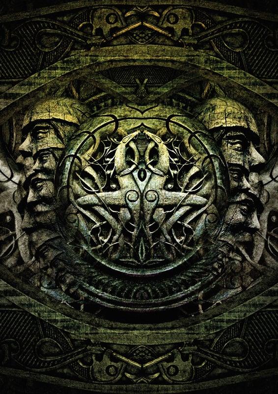 """Image of BORKNAGAR """"Urd"""" Impressão de Arte"""