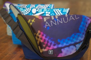 Image of Custom DFF Banner Messenger Bags