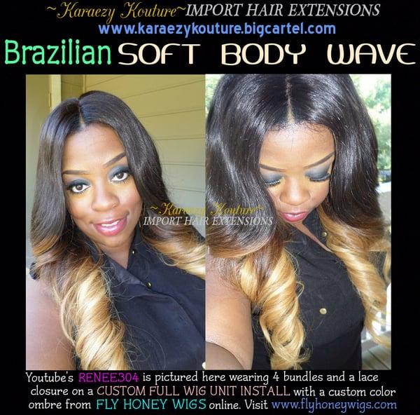 Image of Virgin Brazilian Soft Body Wave