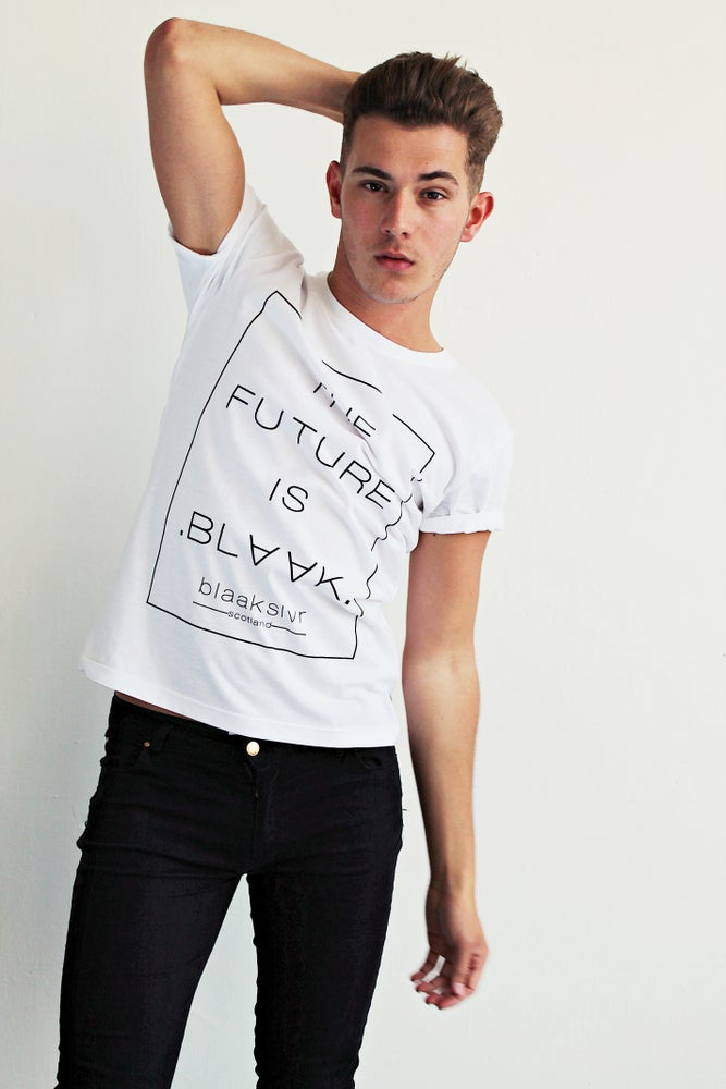 Image of THE FUTURE IS BLAAK T-SHIRT