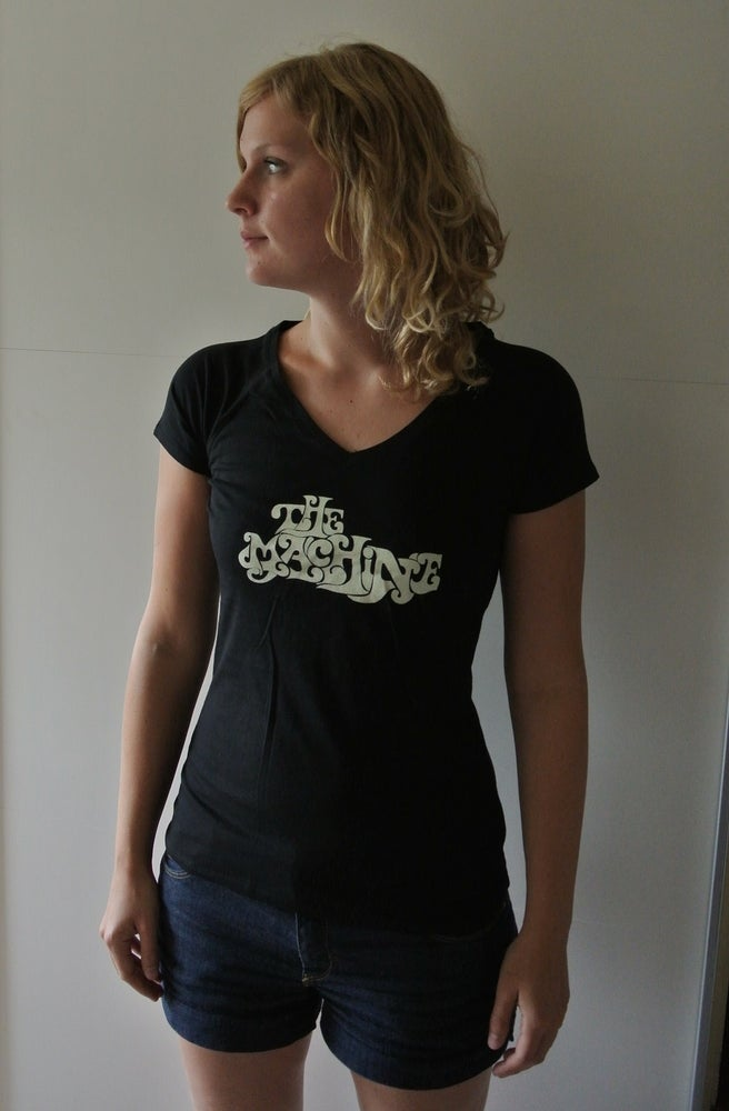 Image of T-shirt Girlie (Black - logo 2013)