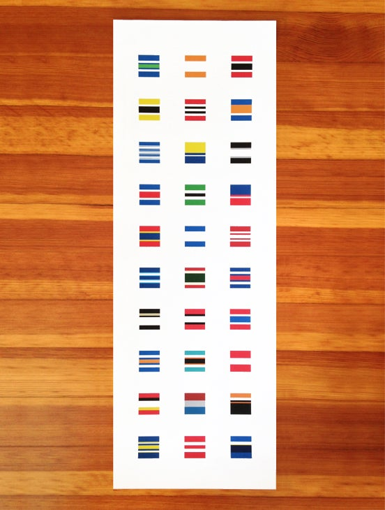 Image of 30 Blocks, 30 Socks
