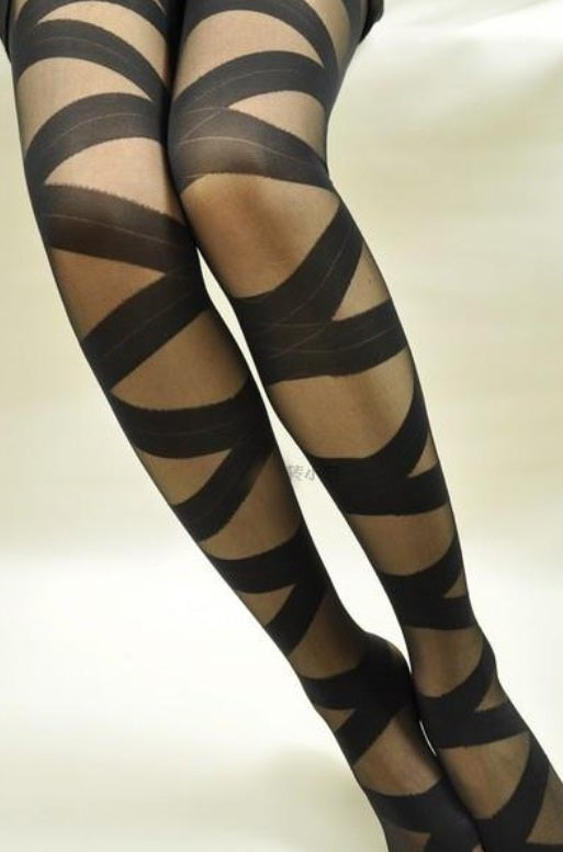 Image of Sexy Crossed Solid Mid Leggings