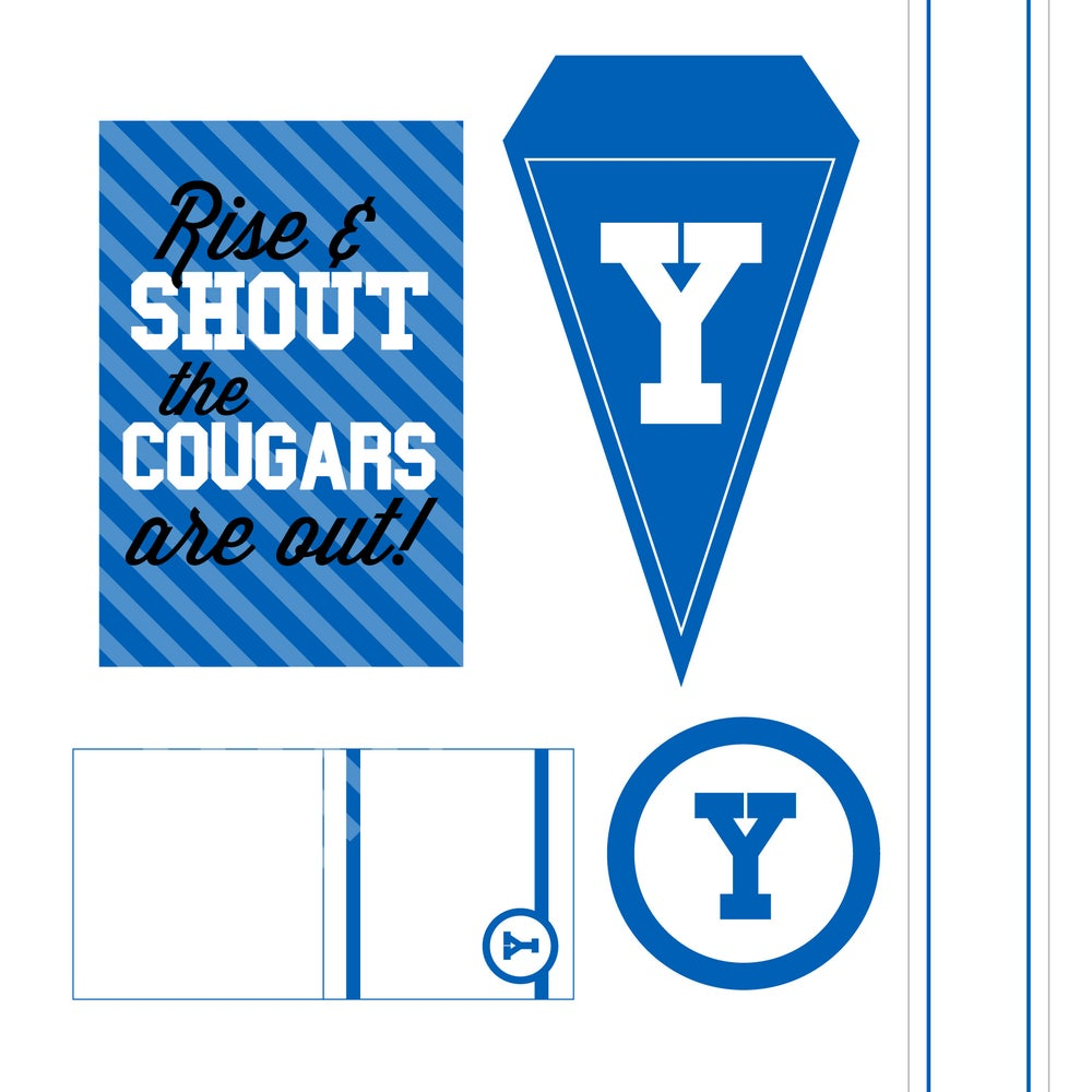 Image of BYU Printable