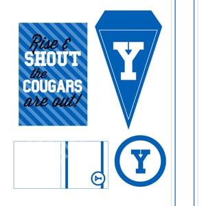 Image of BYU Printable